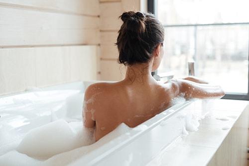 ウワサその2:全身浴より半身浴のほうがよい