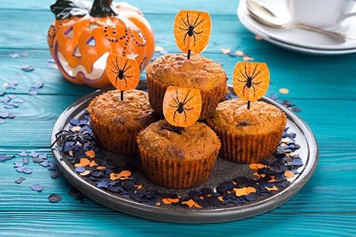 かぼちゃと豆腐のヘルシーマフィン