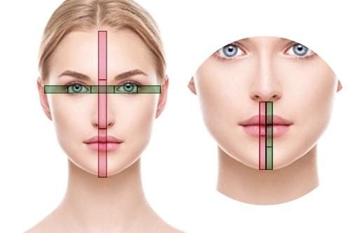 顔の黄金比から見る美人の条件とは因