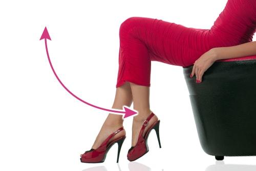 膝の曲げ伸ばし