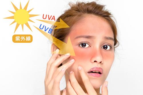 肌の天敵!紫外線が肌に与える影響とは?